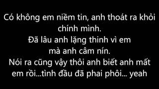 Cứ thế mong chờ - Nguyễn Đình Vũ (Lyrics)