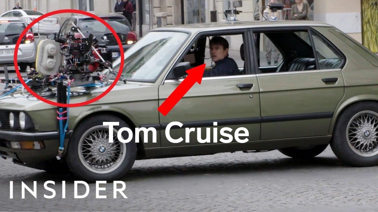 Како холивудските ѕвезди ги снимаат трките со автомобили?