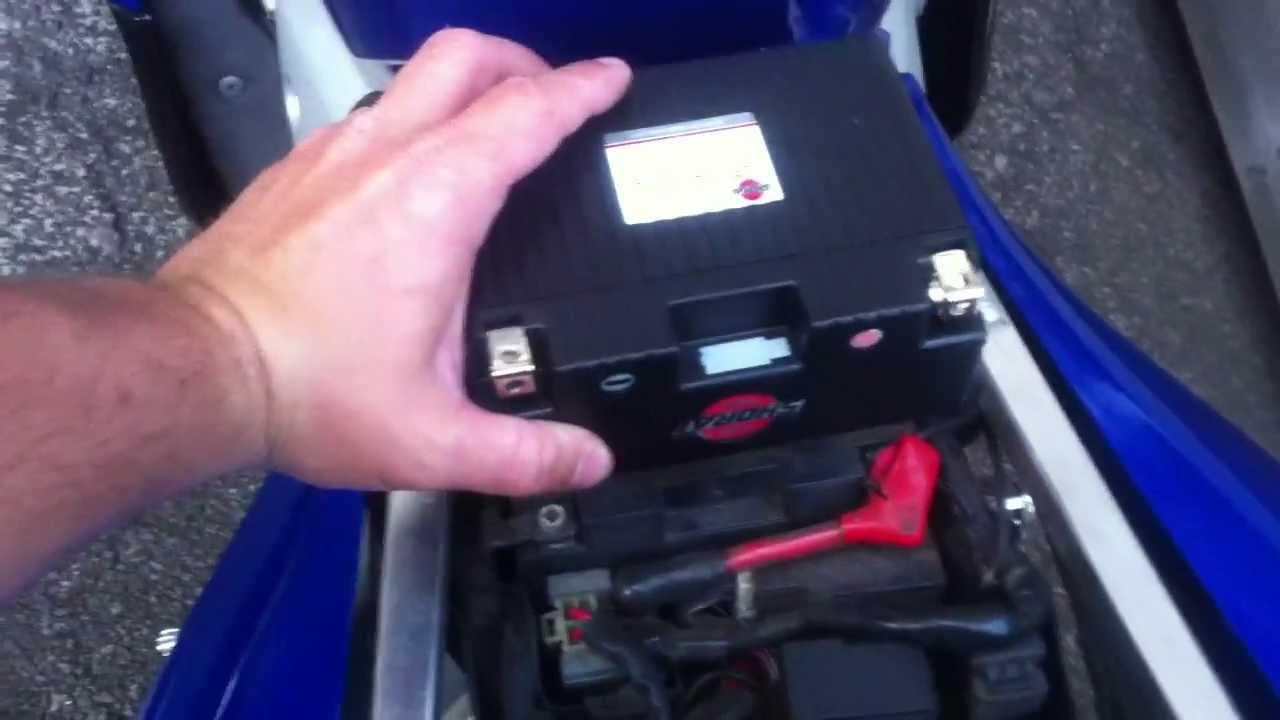 Yamaha Yzf R Battery