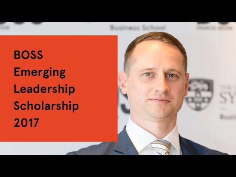 BOSS Emerging Leadership Scholarship 2017
