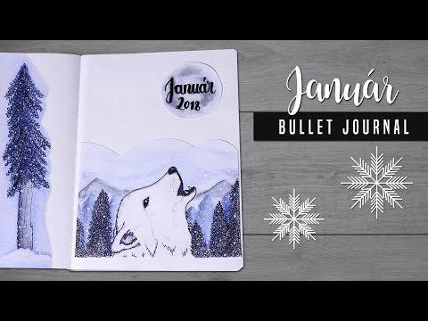 Bullet Journal [MAGYAR] 2018 Január DIY