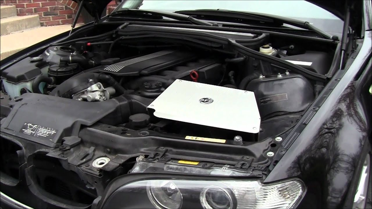 GF-Performance - aFe Cold Air intake for E46 330