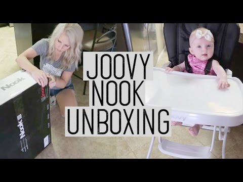 JOOVY NOOK HIGH CHAIR UNBOXING 2017/ BABY GETS A HIGH CHAIR / Daily Vlog