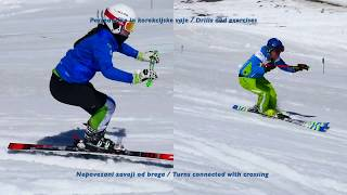 DEMO Team Slovenia- Technical training with Europa cup racer (Drills and exercises)