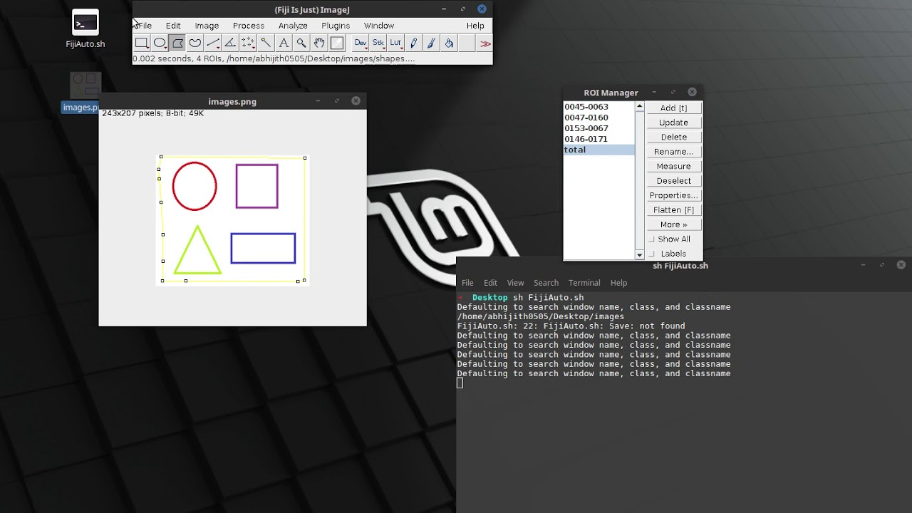 Automation using xdotool: An example