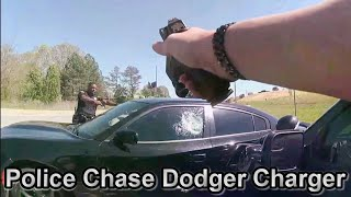 Police Chase Felons Up To No Good - Forsyth County Sheriff's Office  GA April 12th 2021