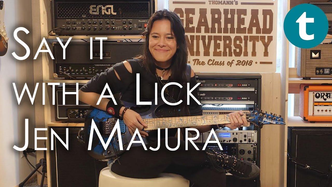 Say It With A Lick | Jen Majura | Evanescence | Thomann