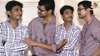 Ilayathalapathy Vijay met his Kerala fan who is losing his eye sigh