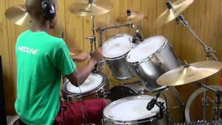 Repeat youtube video Drum Cover: Black Skinhead - Kanye West (Yeezus) @drums0n