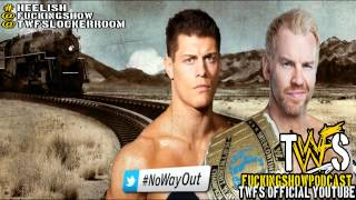 Christian VS Cody Rhodes NO WAY OUT