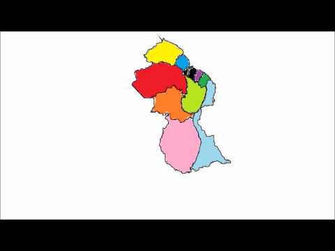 Administrative Regions of Guyana-Part 1
