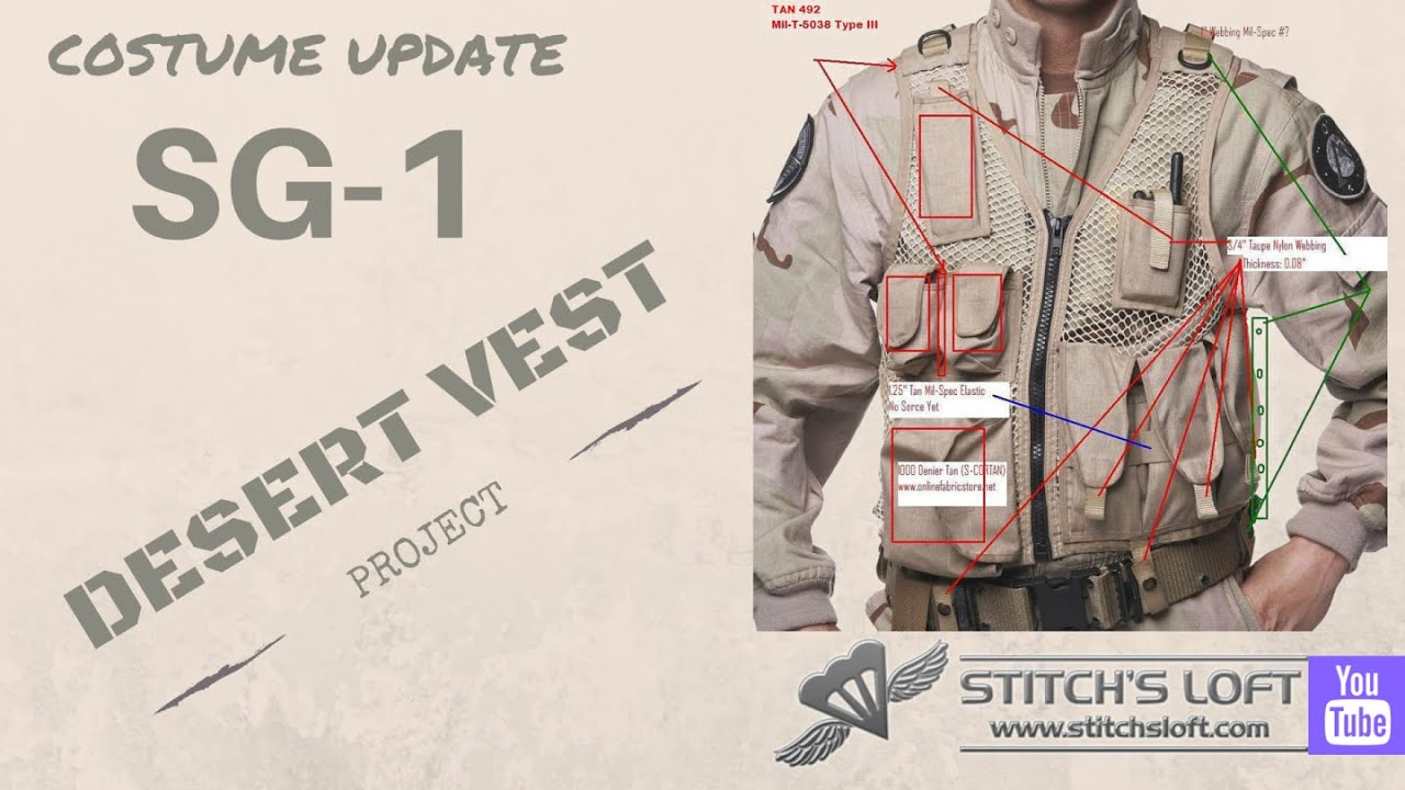 Download SG-1 Desert Vest Project (UPDATE) May 2016 by Stitch's Loft