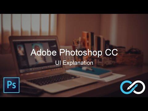 Adobe Photoshop CC Tutorial for beginners   UI Explaination thumbnail