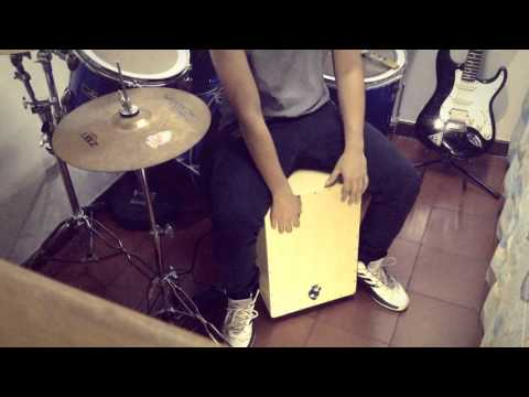 Capital Cities - Safe And Sound * Reggae Version (Cajon cover)