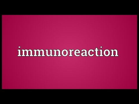 Header of immunoreaction