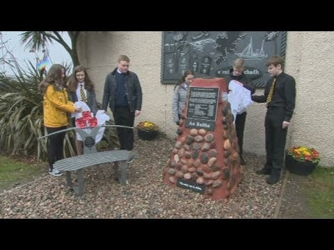 STV News at Six  Iolaire Memorial