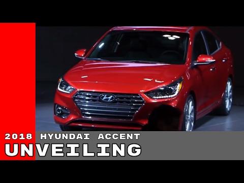 2018 Hyundai Accent Unveiling