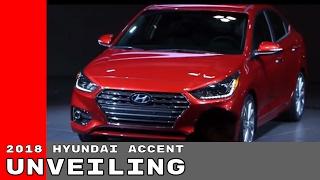 2018 Hyundai Accent Unveiling смотреть