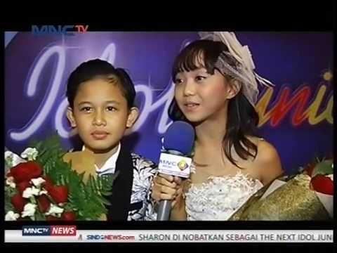 "Sharon Idol Junior 2017 ""Lewat Persaingan Hebat Dengan Navis"" - Seleb On News (13/3)"