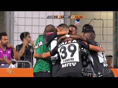 Gols - Atlético-MG 2 x 2 Internacional - Semifinal Copa do Brasil 2016