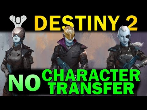 Destiny 2: Why Your Characters Wont Transfer Over