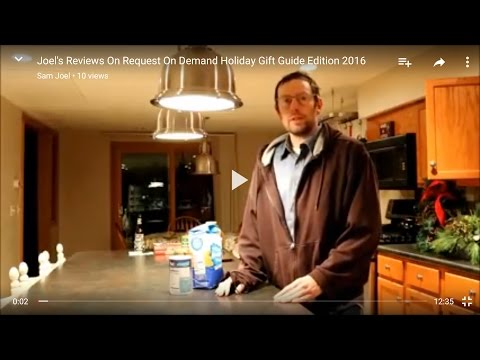Joel's Reviews On Request On Demand Holiday Gift Guide Edition 2016