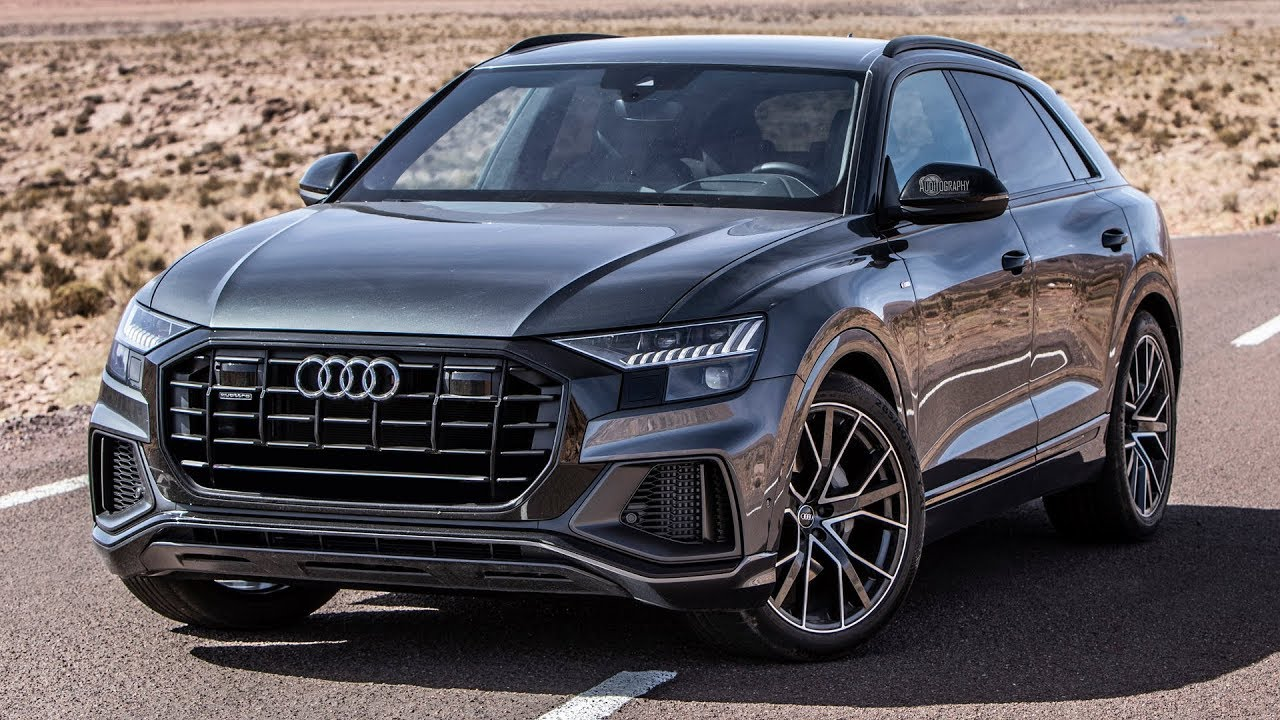 small resolution of the 2019 audi q8 a fantastic machine it will take over the suv market in the detail
