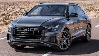 FINALLY! The 2019 AUDI Q8 - A FANTASTIC MACHINE!! It WILL take over the SUV market. IN THE DETAIL