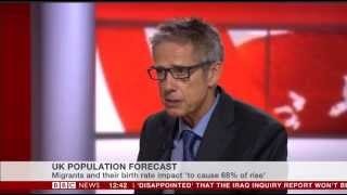 Professor Christian Dustmann on BBC News Channel 29.10.2015