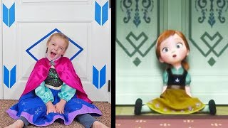 Download lagu Do You Want to Build A Snowman? Frozen Song (Cover)! Elsa and Anna