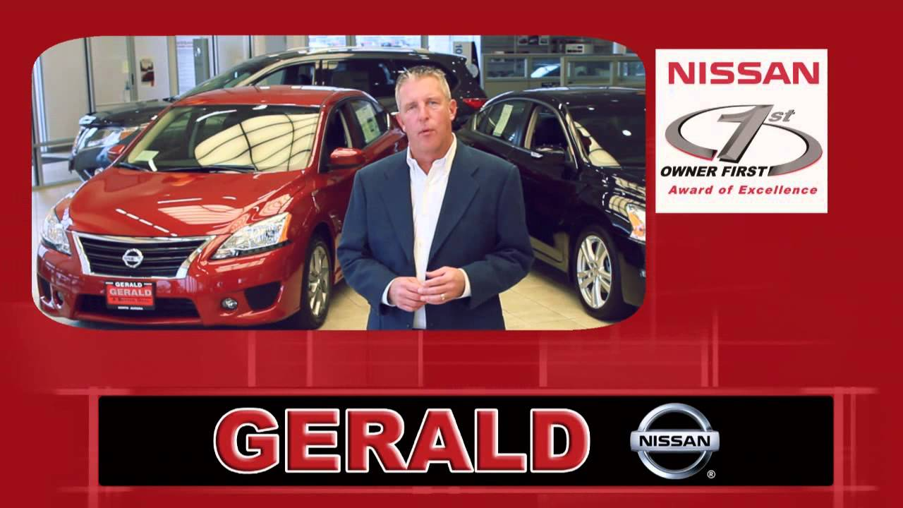 Gerald Nissan Youtube