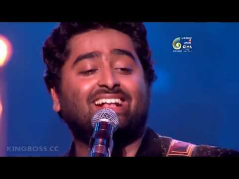 Arijit Singh LIVE At  GIMA Awards 2017