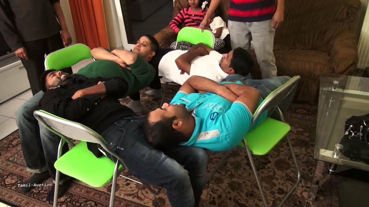 Charmant 4 Man Chair Game U0026 Trick! Funny Videos