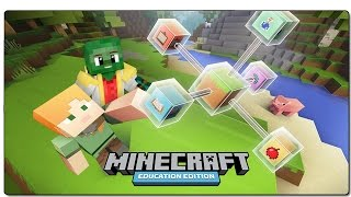 MINECRAFT EDUCATION EDITION | REVIEW EN ESPANOL | MINECRAFT EDUCATIVO PARA WINDOWS 10 | GAMEPLAY