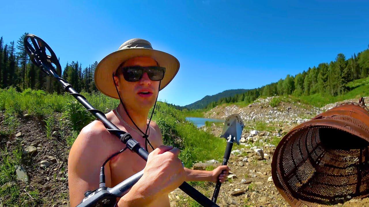 Алтай: Заброшенная деревня. Можно ли Намыть Золото в Реке. Рыбалка. Медведи в Тайге. Баня по Серому