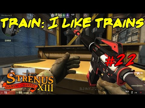 TRAIN: I LIKE TRAINS - CS:GO - Competitive ITA -