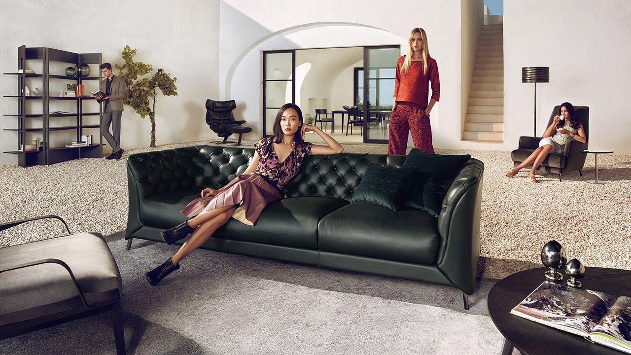 Natuzzi sofas - LA SCALA Natuzzi Italia sofa | #unitedforharmony ...