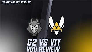 G2 vs VIT - 'Caps is the single most insane player in the West right now'  - LEC Week 8