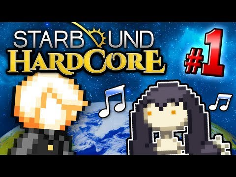 Starbound HC! - Part 1 (Ft. Jesse Cox, The Completionist, Lucahjin + Yungtown)