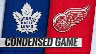 Toronto Maple Leafs vs Detroit Red Wings – Oct.11, 2018 | Game Highlights | NHL 18/19 | Обзор матча