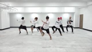 BTS - Fire Dance Practice Mirrored (70% Slow)