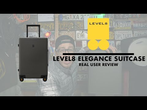 Level8 Cases Elegance Suitcase | Real User Review