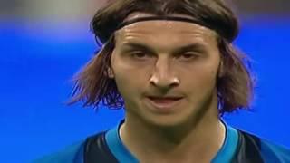 Zlatan Ibrahimovic vs Jose Mourinho (Inter - Siena 17 Mayıs 2009)
