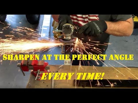 Sharpen Your Mower Blades Accurately With The All American Sharpener - Unboxing & Demo