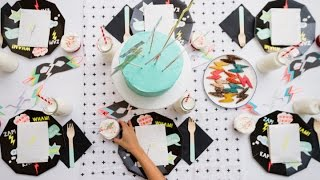 Adorable Lightning Bolt Birthday Spread