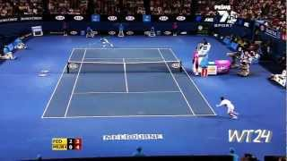 Andy Murray - 2012 Best Points And Shots
