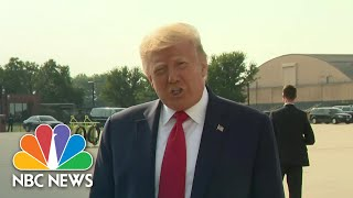 Trump's Mount Rushmore Fireworks Event Won't Require Masks   NBC Nightly News