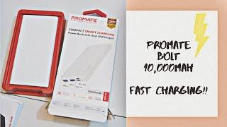 powerbank аккумулятор Promate Moxi