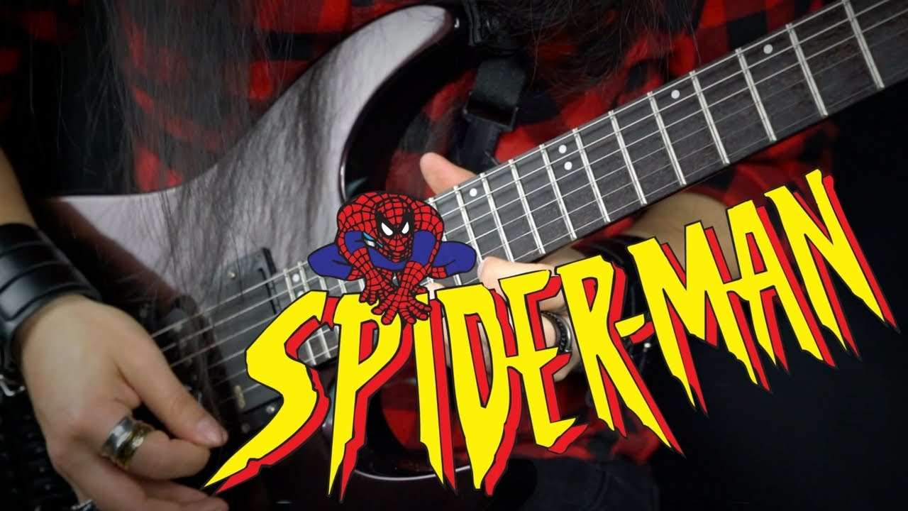 Spider-Man Animated Series   Guitar Cover