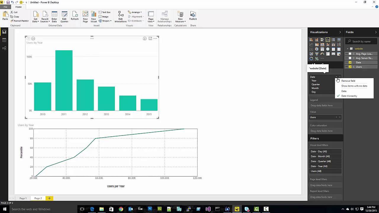 Visual Awesomeness Unlocked – Percentile Chart | Microsoft Power BI